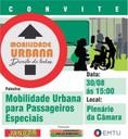 Isenção tarifária de ônibus para pessoas com mobilidade reduzida tem reunião na Câmara